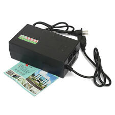 US Plug 220V 48V  Lead Acid Battery Charger For Electric Bicycle Bike Scooters
