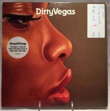 """DIRTY VEGAS - """"SIMPLE THINGS"""" - 12"""" SINGLE, CREDENCE/ EMI RECORDS  # 12cred032"""
