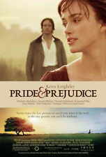 PRIDE AND PREJUDICE Movie POSTER D 27x40 Keira Knightley Talulah Riley