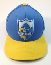 NFL Chargers Hat Cap Snapback Mitchell & Ness Vintage Collection Blue Yellow