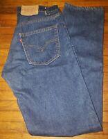 Vtg Levis 505 0217 Denim Jeans No Redline No Big E 34x34 USA Jeans Single Stitch