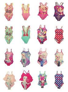 Girls Kids Swimming Costume Swimsuit Swimwear Size 2 3 4 5 6 7 8 Beach Pool Sun