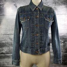 Gap Denim Jeans Women Jacket Sz S Blue 100% Cotton Buttons Down
