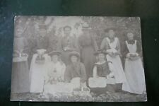 More details for fruit pickers wardington oxfordshire  original real photo