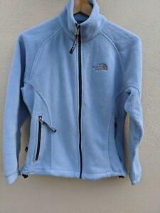 Vtg 90s North face women's Fleece Size Small blue