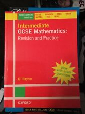 Intermediate GCSE Mathematics: Revision and Practice by D. Rayner (Paperback,...