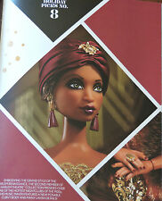 Madam LaVinia Barbie Harlem Theatre Gold Label Org. Shipper Box NRFB DGW46 MINT