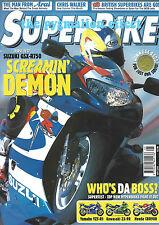 2000 GSX-R750 GSXR R1 YZF-R1 ZX-9R CBR600 Evo-RR Honda CBR900RR FireBlade YZF-R1