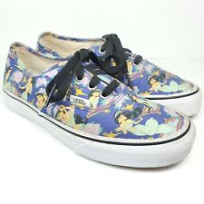 Vans Disney Jasmine Canvas Skate Sneaker Shoes Mens 5 Womens 6.5 US RARE