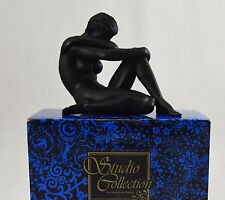 Beautiful Matt Black Female Form Nude Statue/Sculpture/Figure Erotic/Art/Home