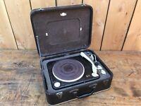 BARTHE RADIO/LENCO ANCIEN ELECTROPHONE AMPLI MONO A LAMPE /Bakelite / VINTAGE