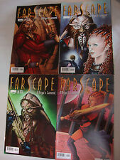 Farscape comic set - D'Argo's Lament 1 2 3 4 - Mint - A or B covers