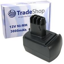 Power smart 12v 3.0ah Batterie pour Metabo CSH 12 premium 6.25486 ssp 12