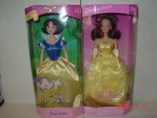 Disney Princess Dolls Snow Whitel & BELLE