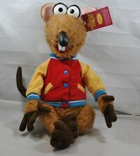 """NWT RARE 2003 Rizzo The Rat 18"""" Sababa Toys The Muppet Show Plush Stuffed Animal"""