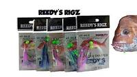10 Bait Rigs Flasher Paternoster Rig Hook 4,5,6/0 Reedys Bait Lure Fishing