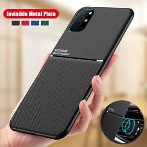 For OnePlus 8T Nord 8 7 Pro 7T Soft Silicone Case Car Magnetic Support Cover