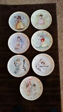 The Hamilton Collection Little Ladies series (Lot of 7) Collector Plates