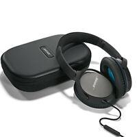 Bose Quietcomfort 25 Wired On Ear Noise Cancelling Headphones w/ Mic - BLACK