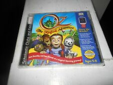 Oz The Magical Adventure Cd-Rom Interactive Learning Game 2000 New Sealed