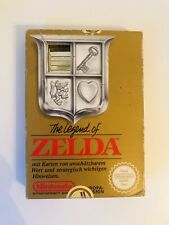 ZELDA - NINTENDO ENTERTAINMENT SYSTEM - NES - OVP + MODUL - GOLD
