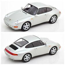 1 18 NOREV Porsche 911 (993) Carrera Coupe 1993 silver