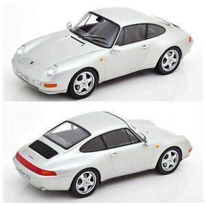 1/18 Norev Porsche 911 (993) Carrera 1995 Silver Neuf Boite Livraison Domicile