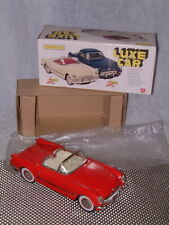 FULLY TIN, FRICTION POWERED LUXE CAR CHEVROLET CORVETTE CABRIOLET. NOS!!