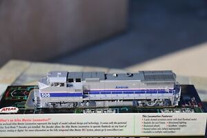 HO Atlas GE Dash 8-32BWH B32-8HW Amtrak AMTK Phase 4 IV #506 DC/DCC