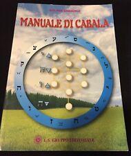 Manuale di Cabala Libro Guliana Ghiandelli Come Da Foto N