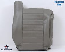03-07 Hummer H2 SUV SUT -Passenger Side Lean Back Leather Seat Cover Wheat Gray