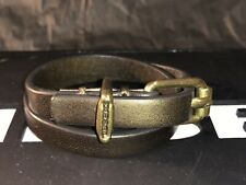 Brand New Rrp Price Start From £50 Diesel Cuff Bracelet Leather With Cool Detail