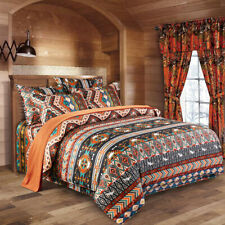 Indian Bohemia Duvet Cover Bedding Set with Pillow Cases Single Double King Size