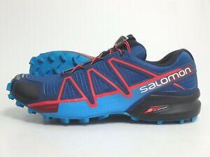 Salomon #37697 Speedcross 4 Trekking Trailrun Wandern Schuhe Herren 45 1/3 Blau