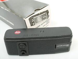 Leitz Motor-Winder R4 14282 für Leica R4-R7 TOP u. voll funktionsf n. mint + box