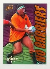 1996 Futera Rugby Union Hobby No Barriers insert card #NB6 Phil Kearns