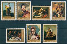 HUNGARY - 1968. Spanish Paintings (Art,Goya,El Greco) MNH! Mi 2409-2415