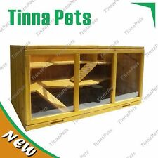 out stock LARGE 115*60*58cm Water Dragon/Mouse multifunctional wood Gage Hutch