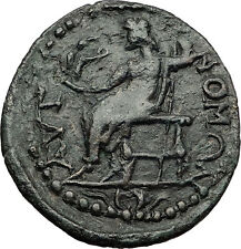 TERMESSOS MAJOR in PISIDIA 2-3CnAD ZEUS Nike Authentic Ancient Greek Coin i58325