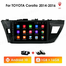 """10.1"""" Android 10 Car GPS Radio Stereo Wifi DAB For Toyota Corolla 2014 2015 2016"""