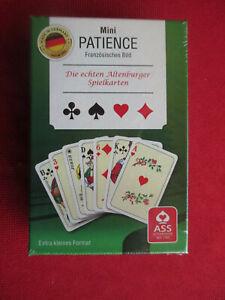 Mini Patience, neu, die echten Altenburger Spielkarten
