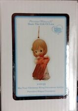 Nib Precious Moments May Your Christmas Bring Excitement And Joy Ornament 101035