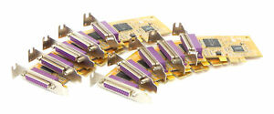 10x Genuine Dell G1FN2 PCie Parallel expansion card / Low Profile