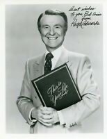 Ralph Edwards Signed 8x10 JSA COA Autograph Photo Game Show Host