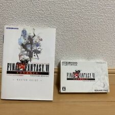 Gameboy Advance FINAL FANTASY VI Game software & strategy guide used from Japan