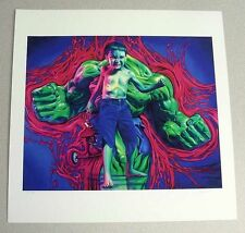 "Ron English Superhero Limited Edition Incredible Hulk ""Hulk Boy"" Print"