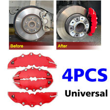 4x 240mm 3D Style BK ABS Car Universal Disc Brake Caliper Covers Front&Rear Kit