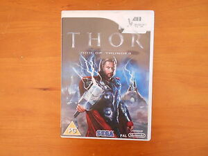Wii GAME THOR GOD OF THUNDER  DISC IN V GD COND - FAST POST