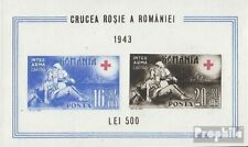 Romania block20 unused 1943 Red Cross
