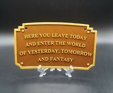 Main Street Entranceway Welcome Plaque Dl Inspired License Plate Cover